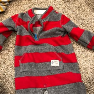 Carters striped onesie boys size 12 month